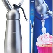 Innovee-Cream-Whipper-Siphon--crme-fouette-professionnel-en-aluminium-05-Litre-avec-3-douilles-dcoratives-Fonctionne-avec-des-cartouches-universelles-N20-non-fournies-0