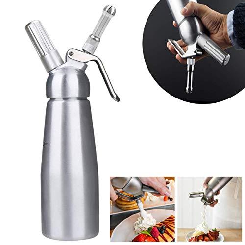 Upstartech-Cream-Whipper-Siphon–crme-fouette-Professionnel-avec-3-Douilles-en-Acier-Inoxydable-Compatible-en-Aluminium-05-Litre-by-0