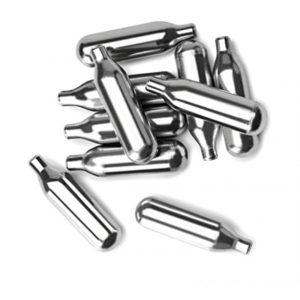 IBILI-744100-Cartouches-de-co2-pour-Siphon-Soda-Aluminium-Argent-9-x-4-x-7-cm-0